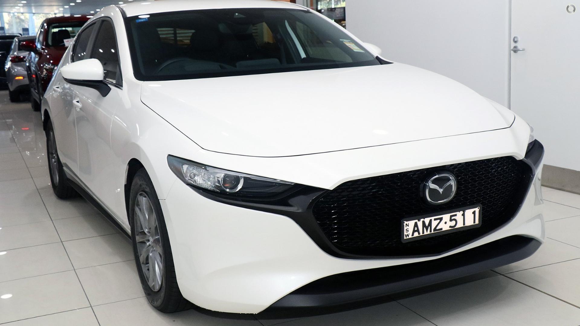 Demo cars - Artarmon Mazda