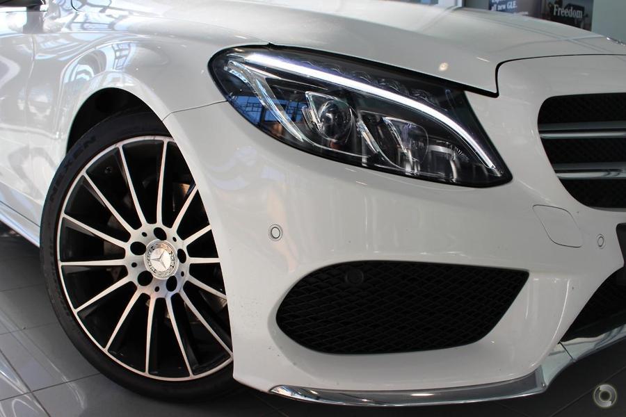 2015 Mercedes-Benz C 200 CDI Sedan