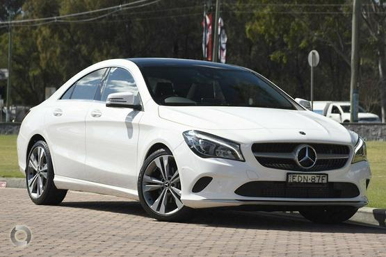 2018 Mercedes-Benz CLA 180