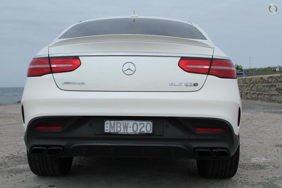 2018 Mercedes-Benz GLE 63 AMG S Coupé