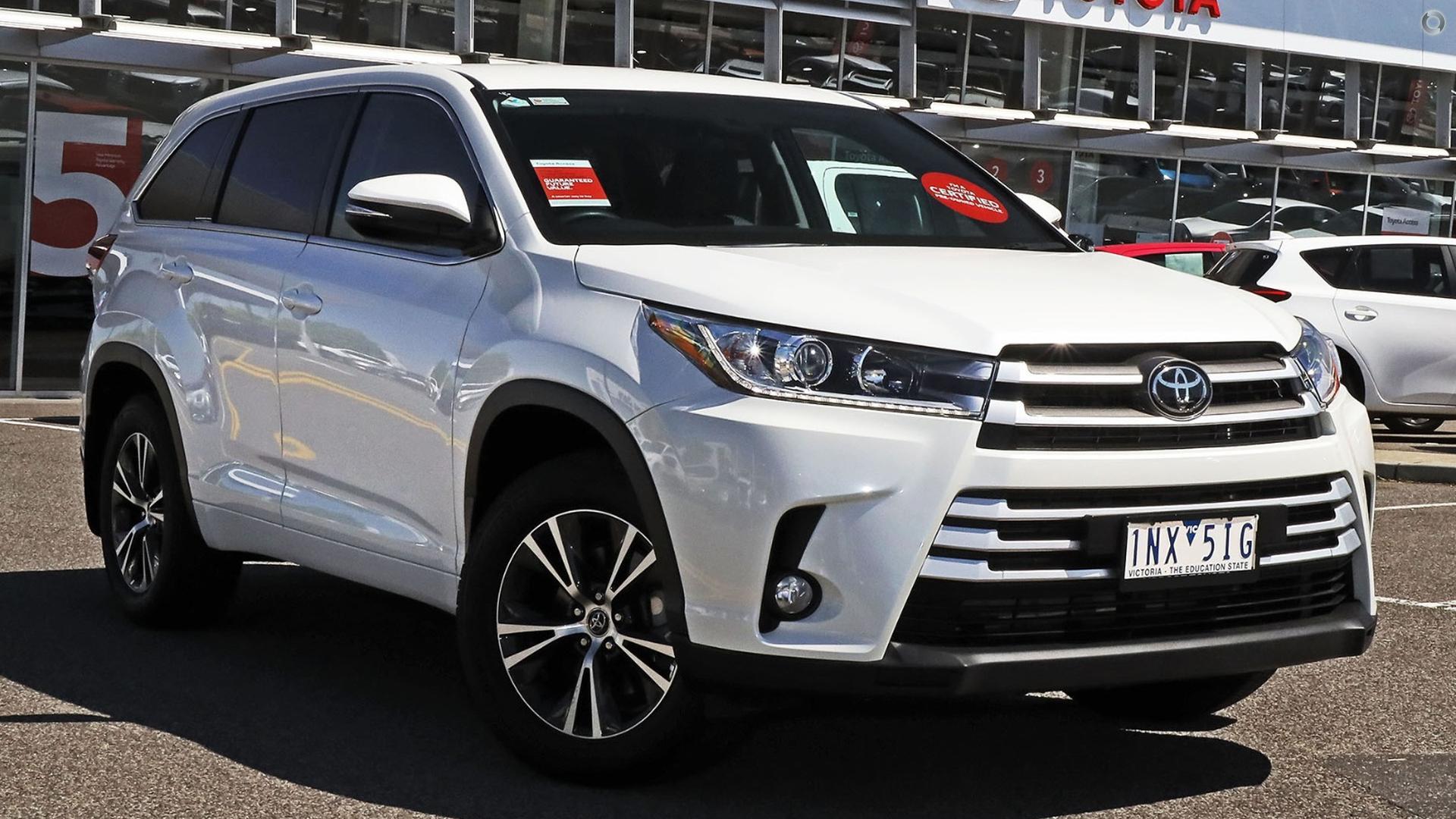 2018 Toyota Kluger GX GSU50R