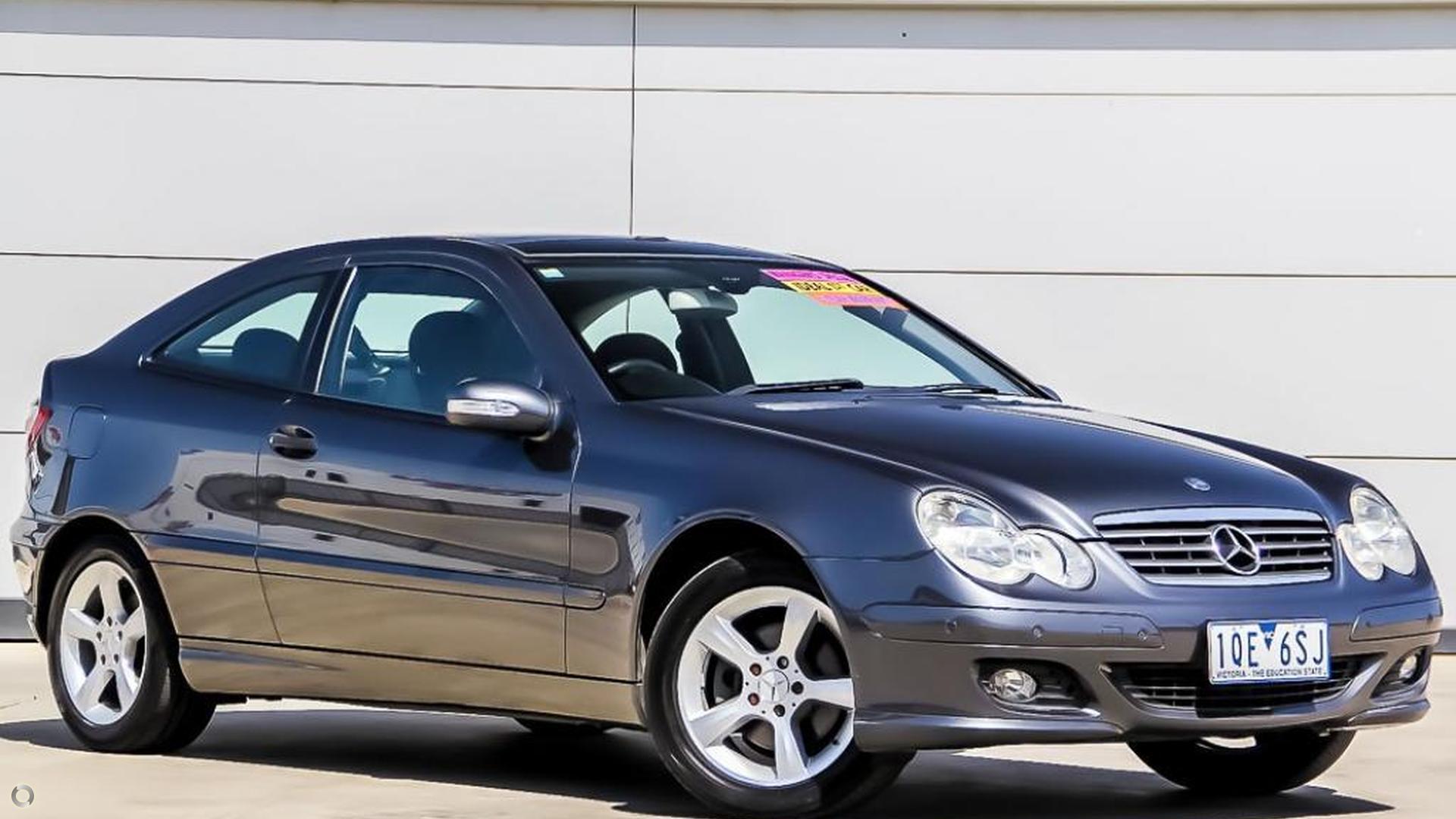 2005 Mercedes-benz C180 Kompressor Sports  CL203