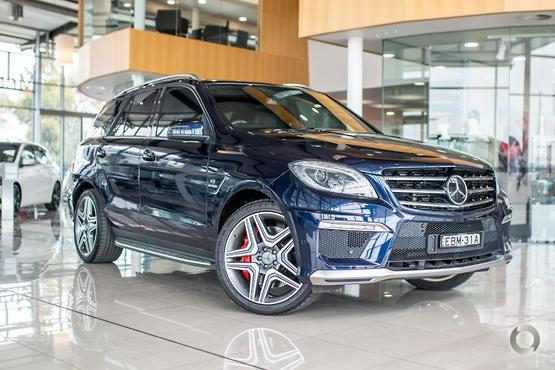 2012 Mercedes-Benz ML 63 AMG