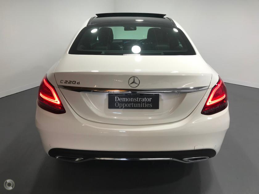 2018 Mercedes-Benz C 220 Sedan