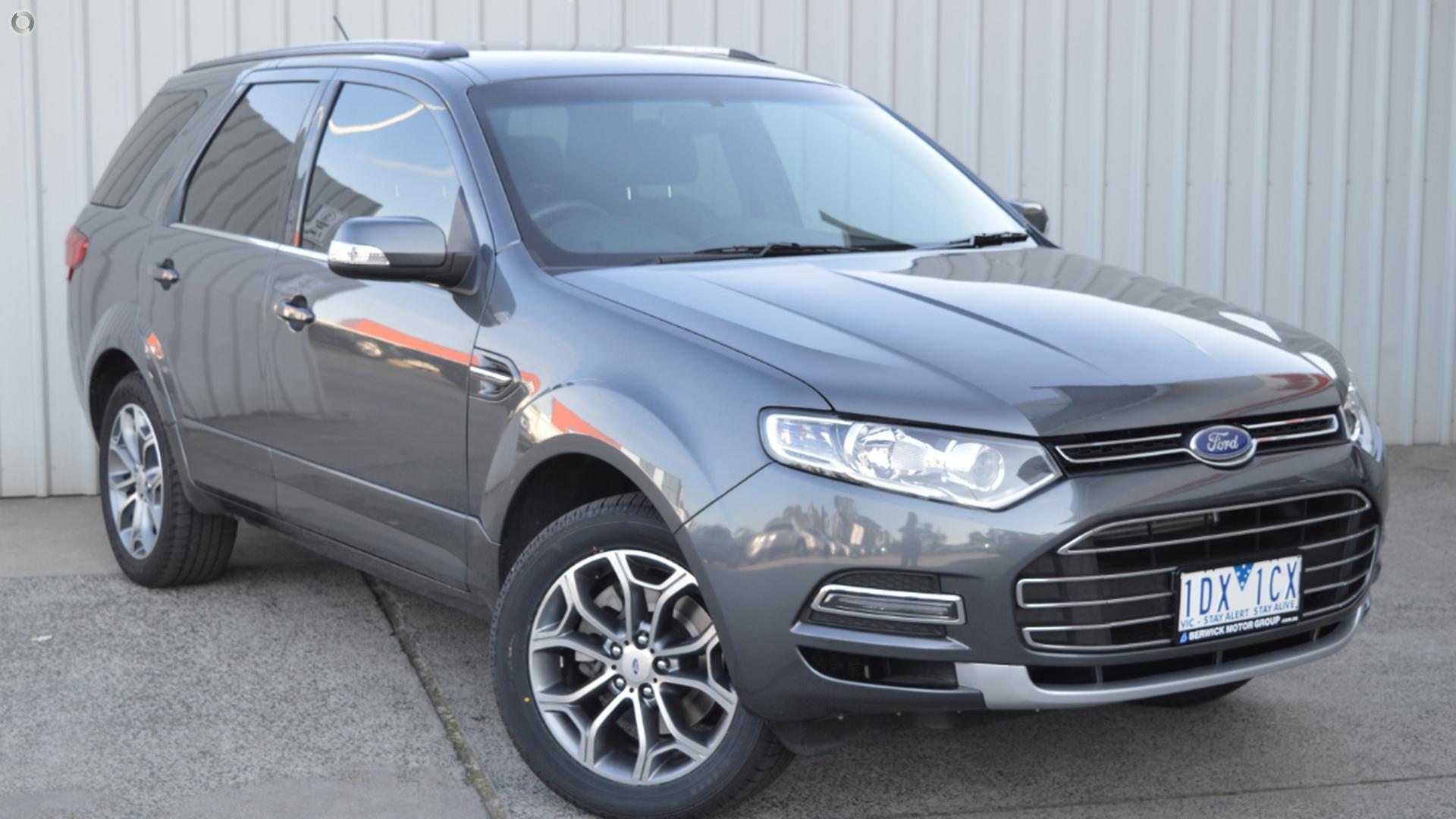 2014 Ford Territory SZ MkII