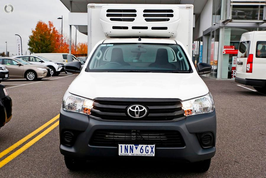 2018 Toyota Hilux Workmate TGN121R