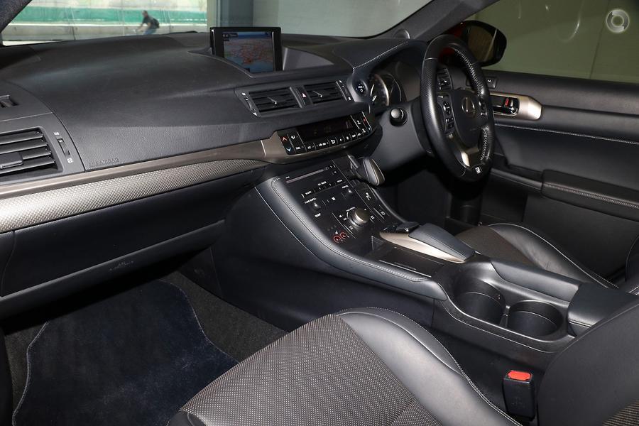 2017 Lexus CT CT200h F Sport ZWA10R