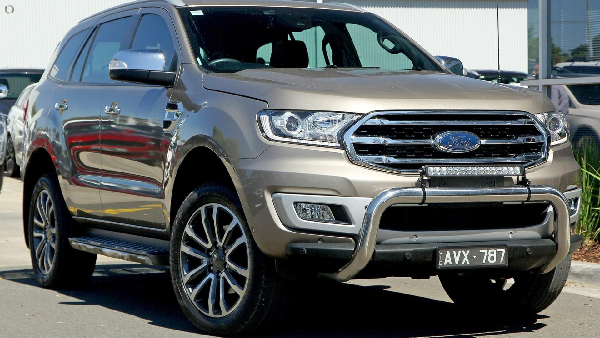 2018 Ford Everest UA II