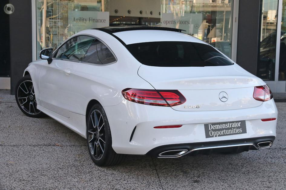 2019 Mercedes-Benz C 200 Coupé