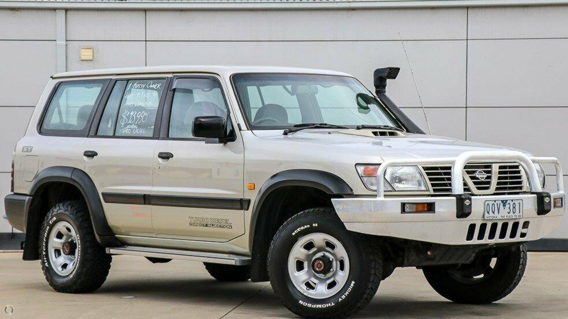 2001 Nissan Patrol GU II