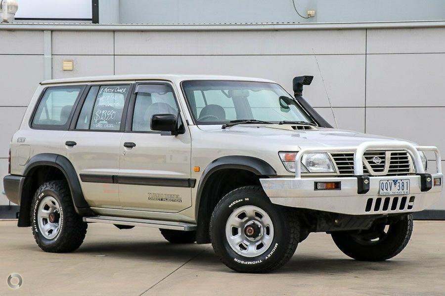 2001 Nissan Patrol ST GU II
