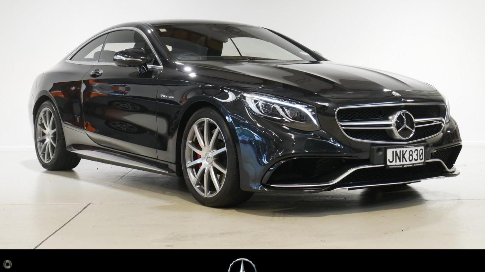2015 Mercedes-AMG S 63 Coupe