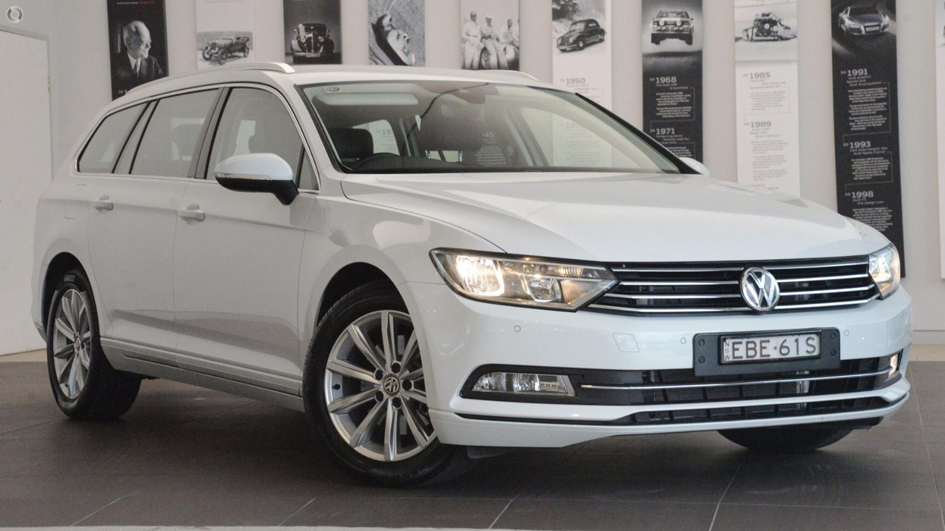 2019 Volkswagen Passat B8