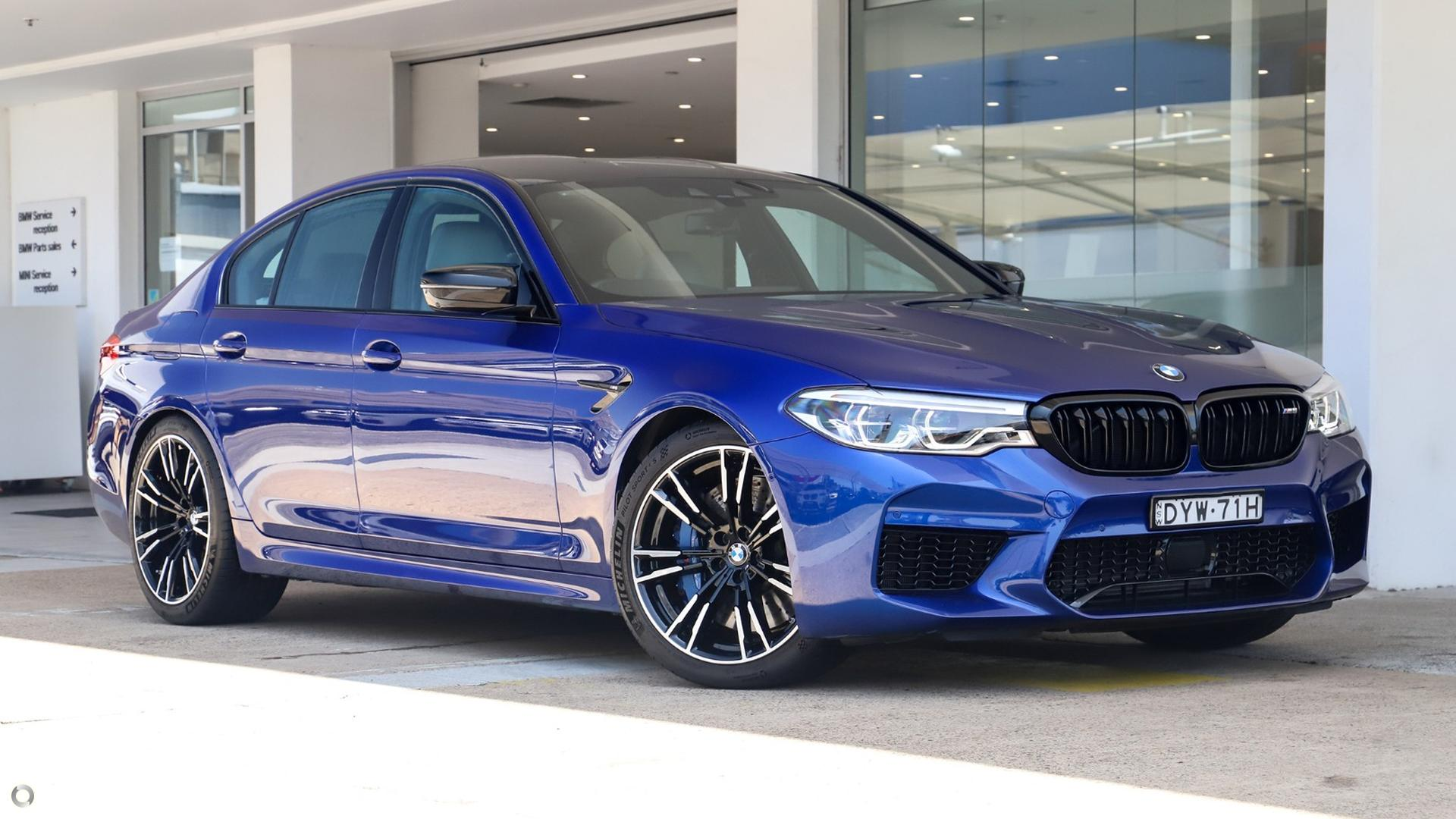 2018 BMW M5 Competition