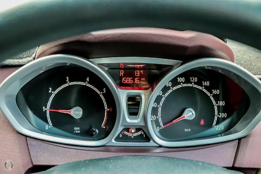 2009 Ford Fiesta Zetec WS
