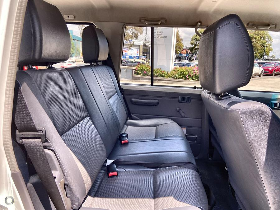 2019 Toyota Landcruiser Workmate VDJ76R