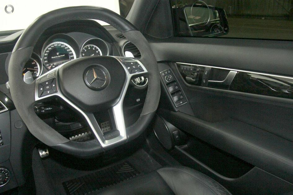 2013 Mercedes-Benz C 63 AMG Sedan