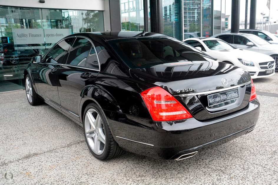 2012 Mercedes-Benz S 350 BLUEEFFICIENCY Sedan