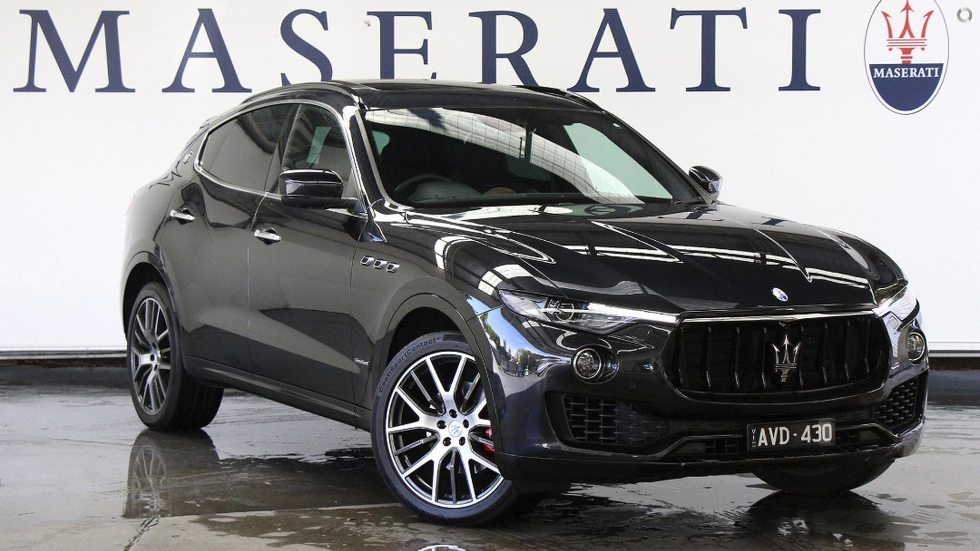 2018 Maserati Levante GranSport M157