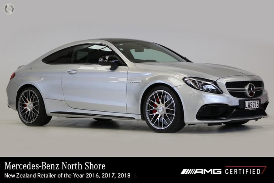 2018 Mercedes-AMG C 63 Coupe