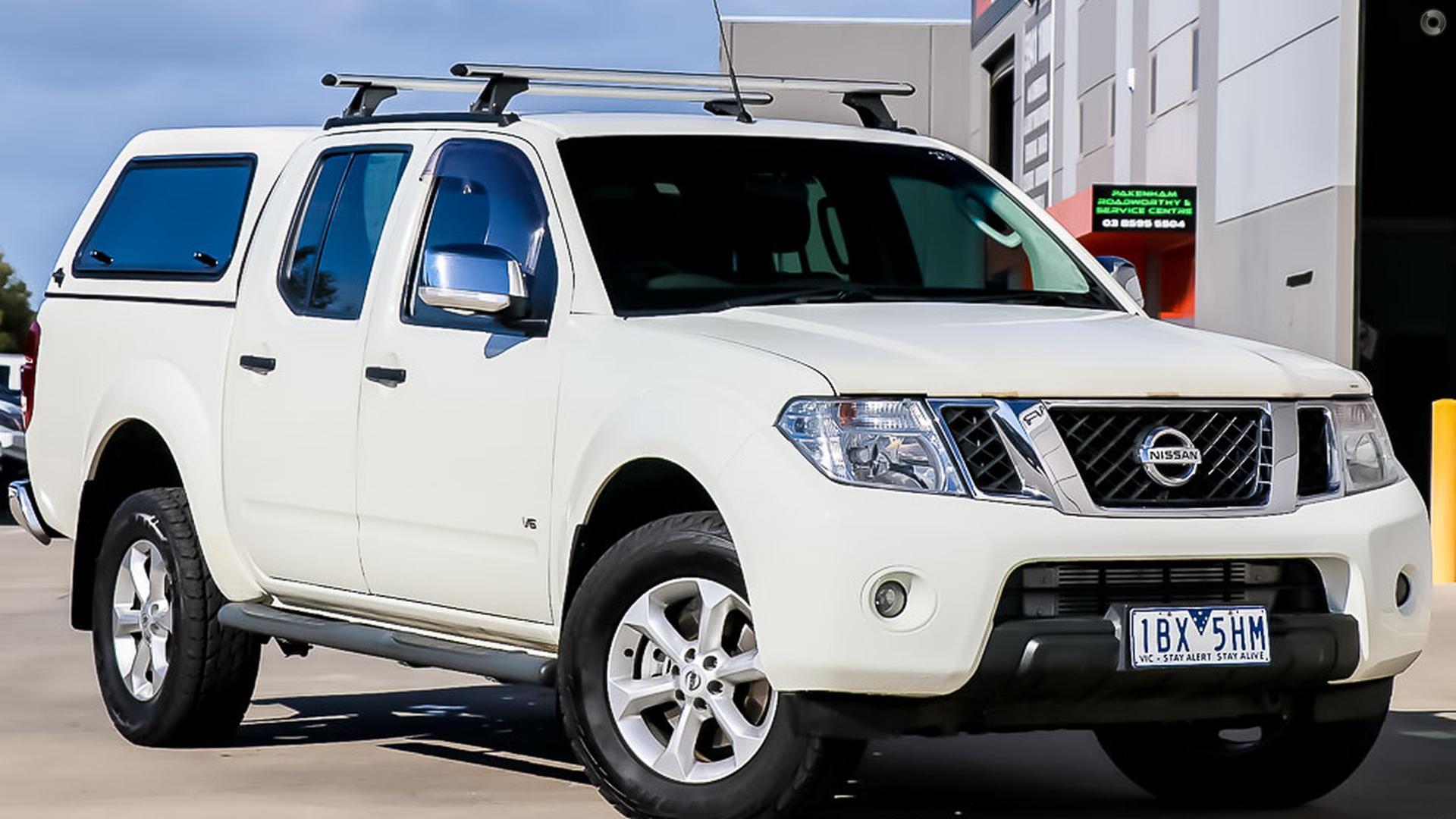 2014 Nissan Navara D40 Series 5