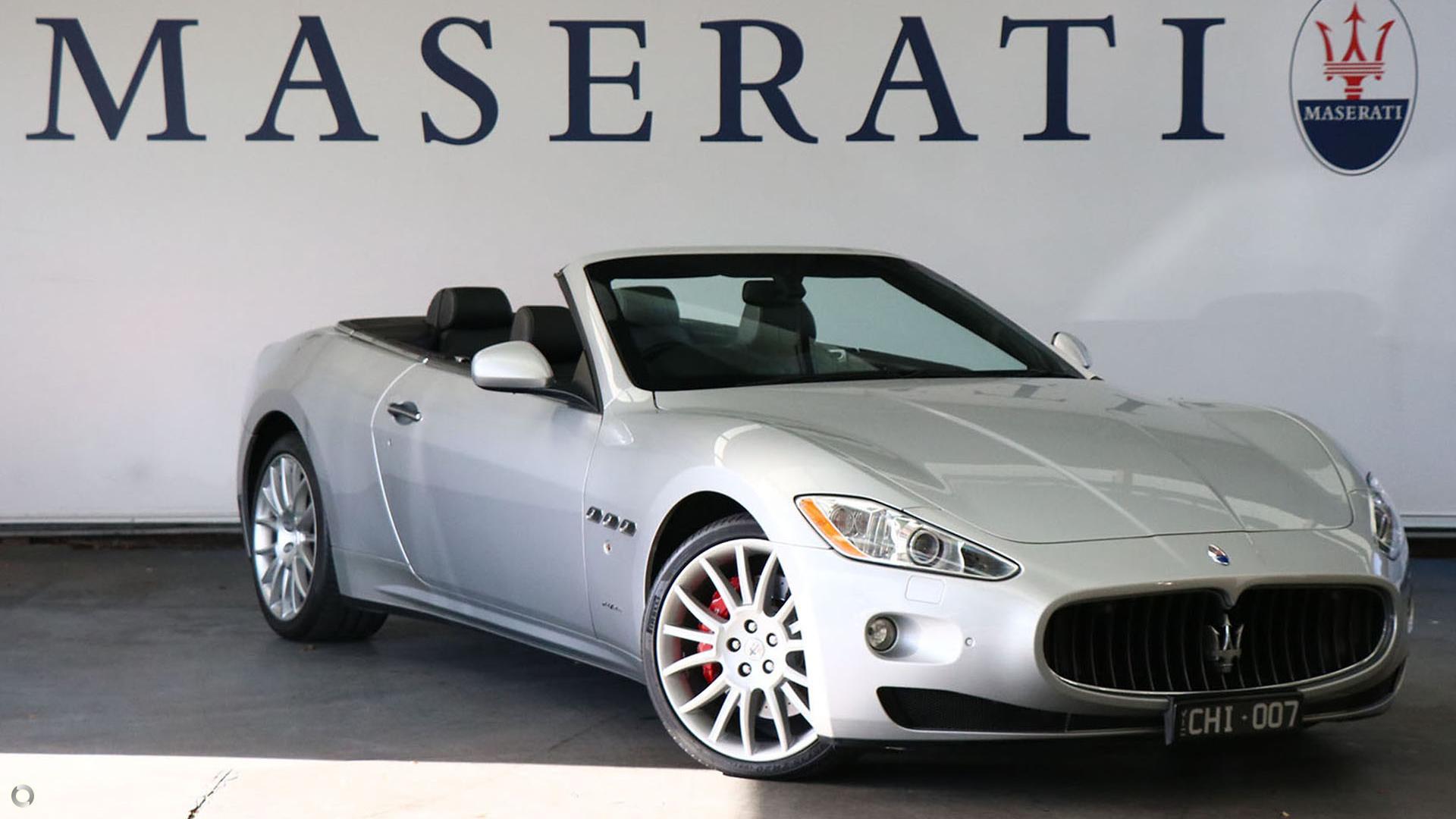 2010 Maserati GranCabrio  M145