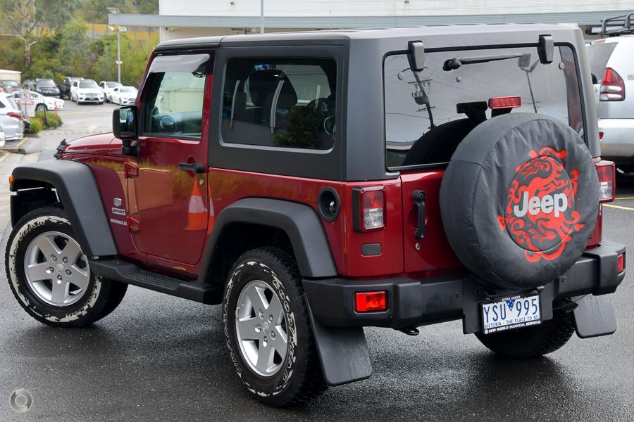 2011 Jeep Wrangler Sport 70th Anniversary JK