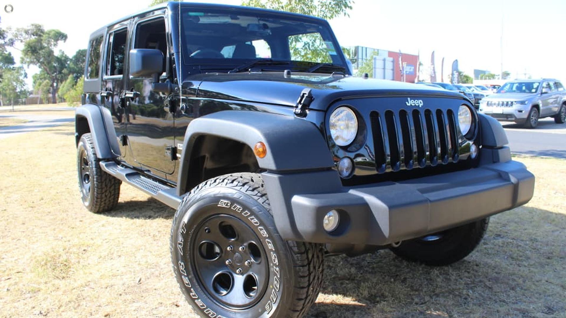 2018 Jeep Wrangler Unlimited Sport JK