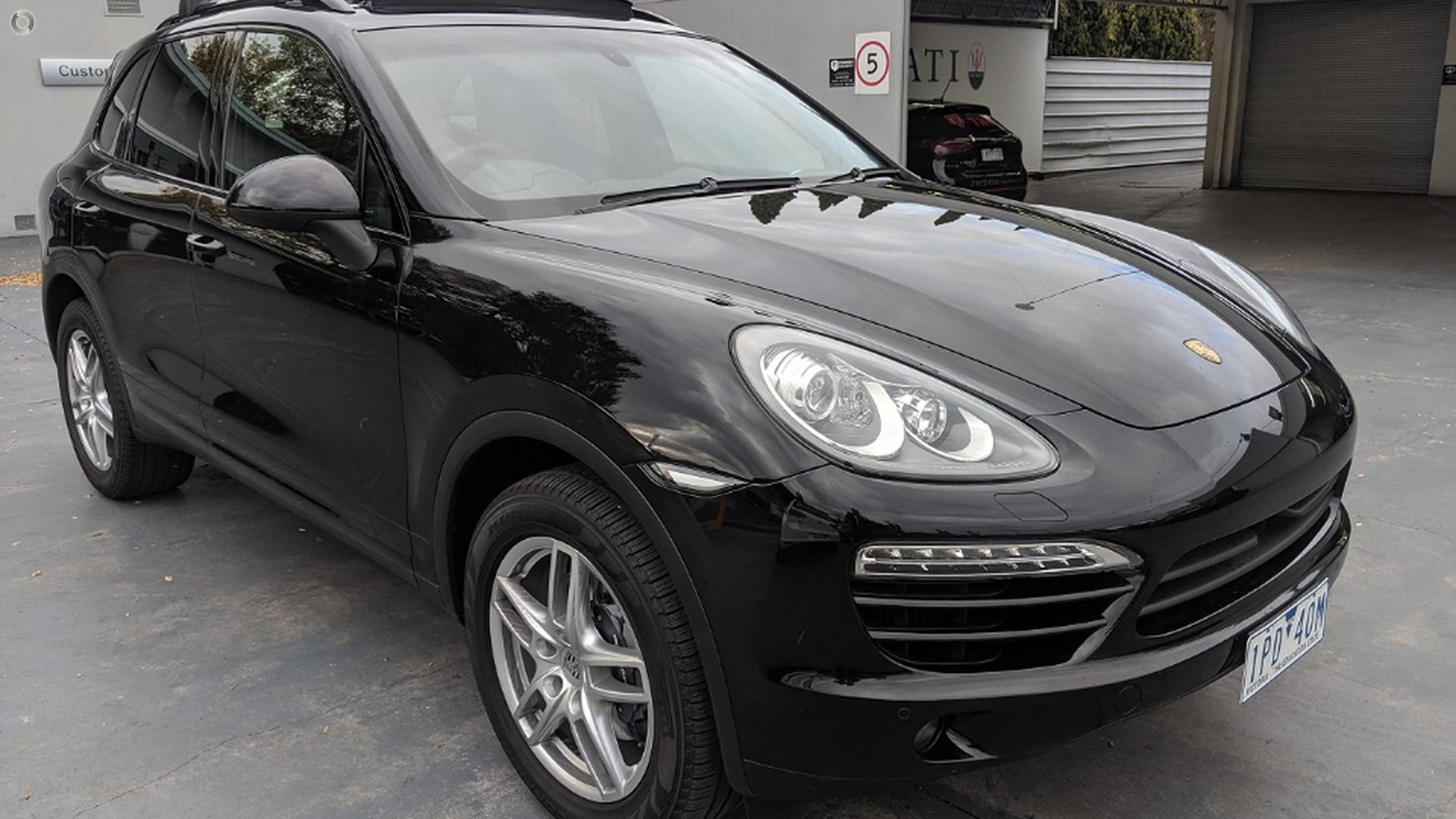 2012 Porsche Cayenne Diesel 92A