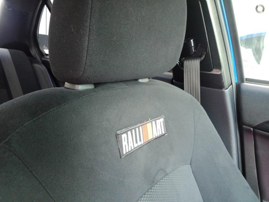 2012 Mitsubishi Lancer Ralliart CJ