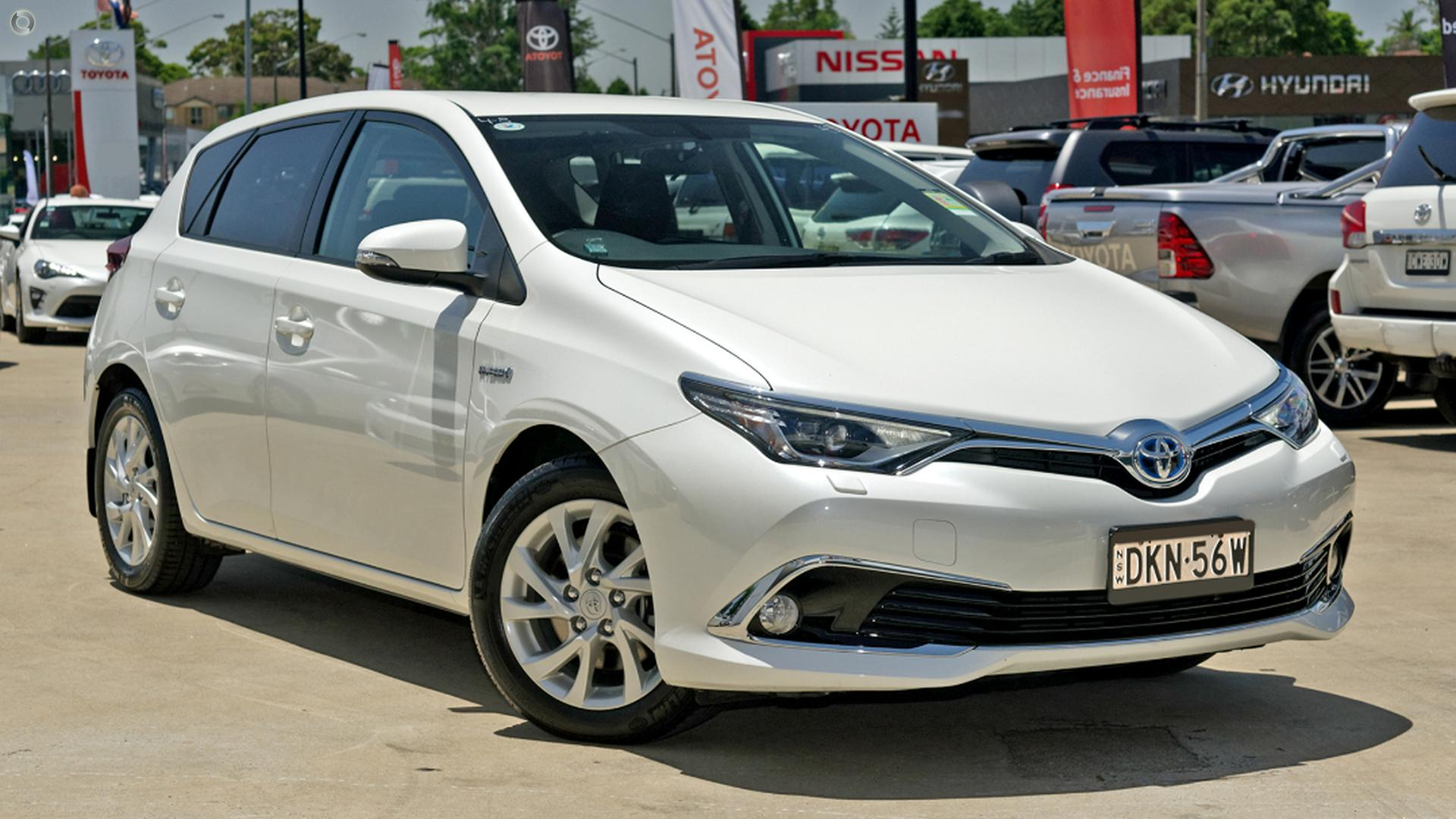 2016 Toyota Corolla ZWE186R