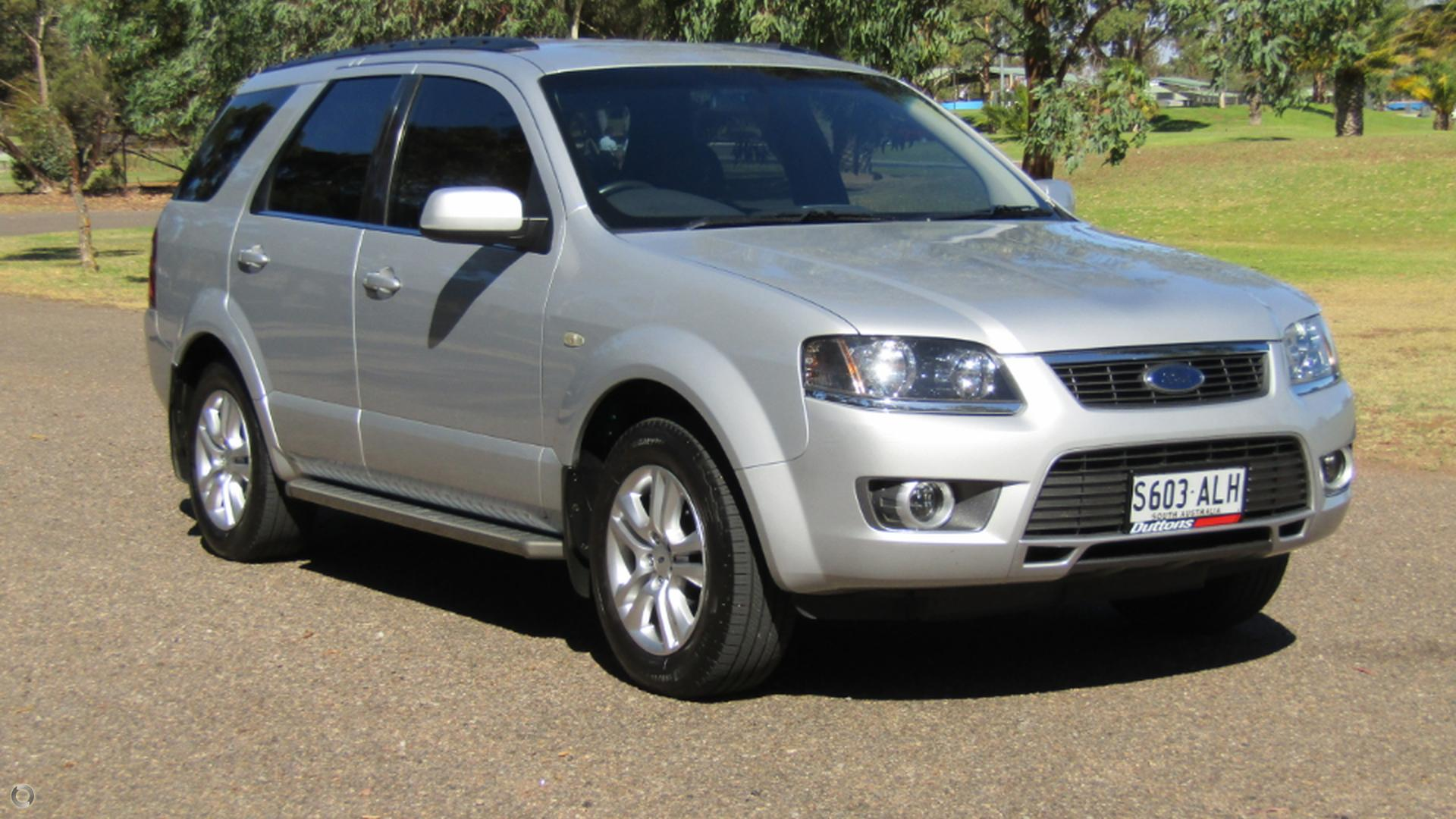 2011 Ford Territory SY MKII