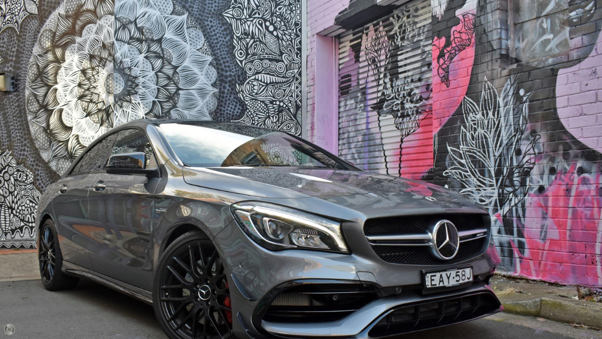 2019 Mercedes-Benz CLA 45 Coupe