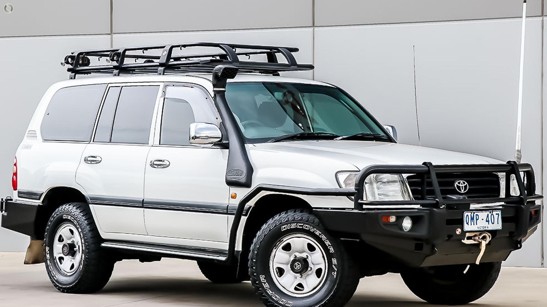 2000 Toyota Landcruiser HDJ100R