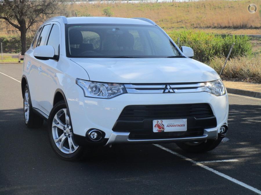 2014 Mitsubishi Outlander Es Zj Blood Toyota