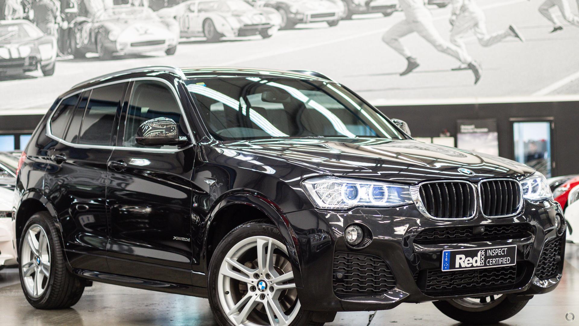2016 BMW X3 F25 LCI