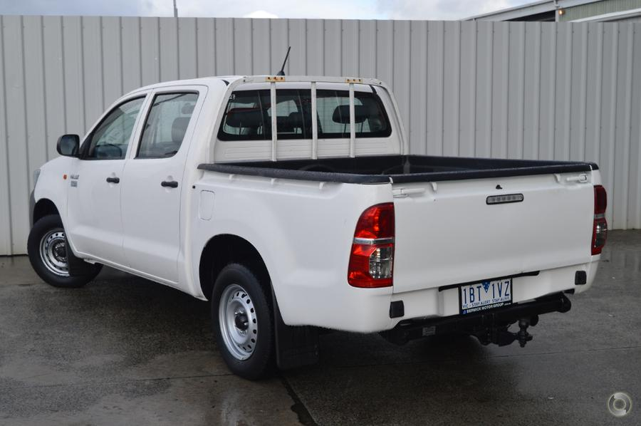 2014 Toyota Hilux Workmate TGN16R