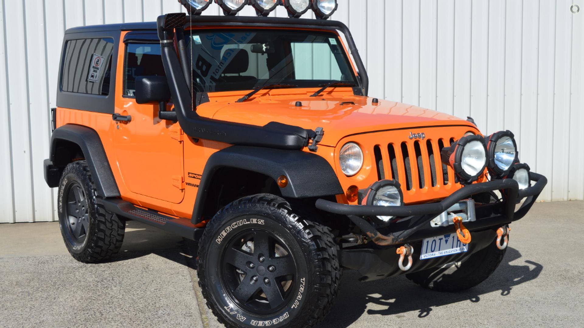 2012 Jeep Wrangler JK