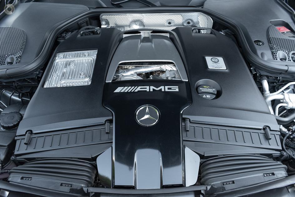 2018 Mercedes-Benz E 63 AMG S Sedan