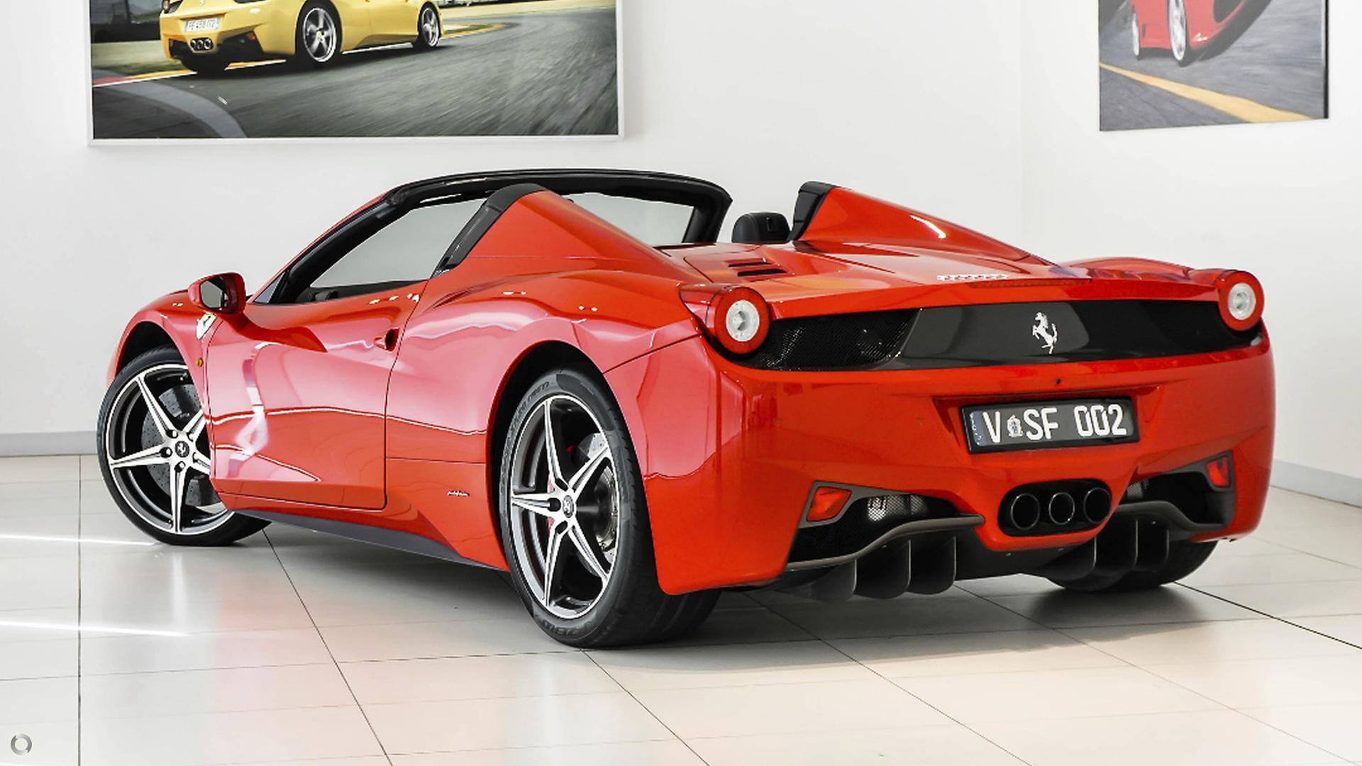 2014 Ferrari 458 Spider  (No Series)