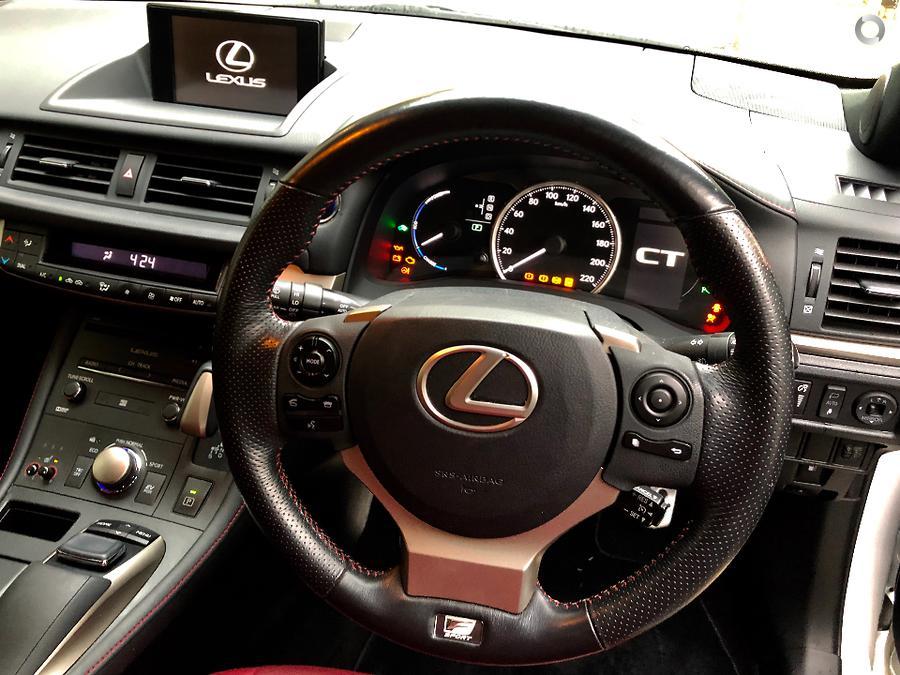 2015 Lexus CT200h F Sport ZWA10R