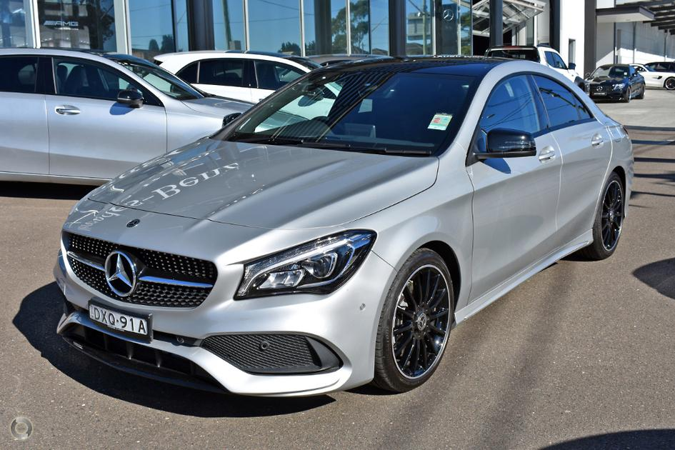 2018 Mercedes-Benz CLA 220 Coupe