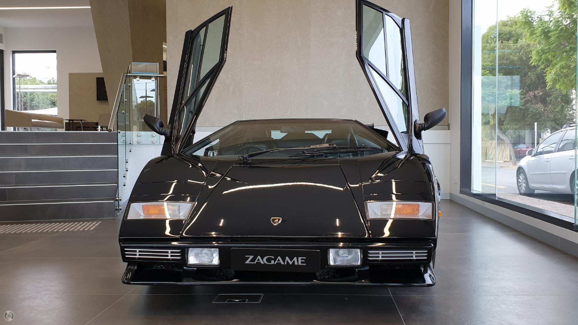 1985 Lamborghini Countach 5000 quattrovalvole LP112D