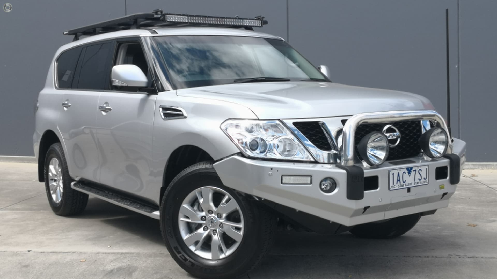 2013 Nissan Patrol Y62