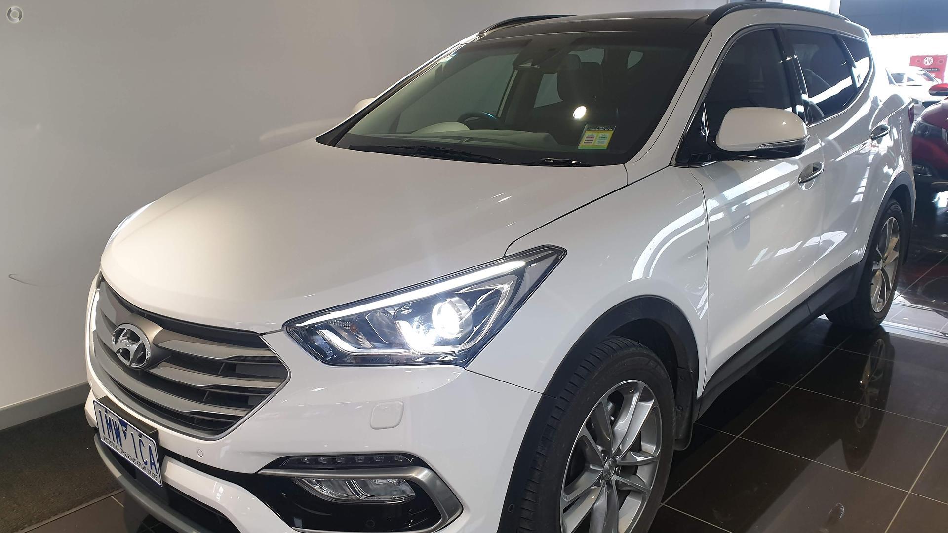 2017 Hyundai Santa Fe DM3 Series II