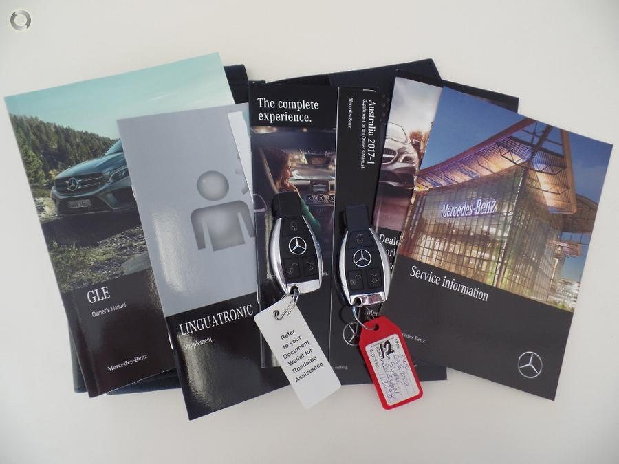 2017 Mercedes-Benz GLE250 d W166