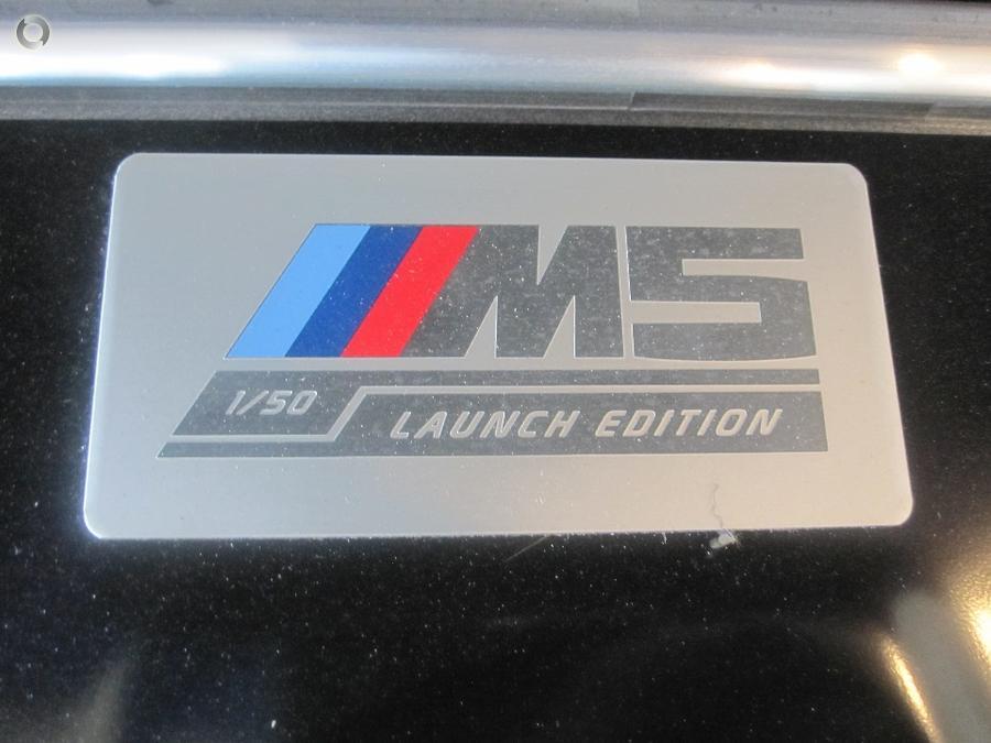 2018 BMW M5 Launch Edition