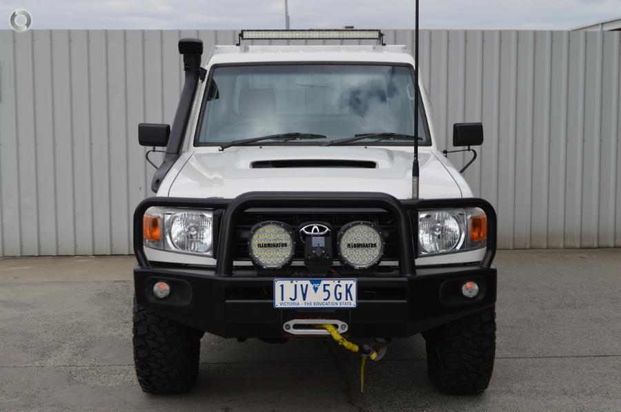 2007 Toyota Landcruiser Workmate VDJ79R
