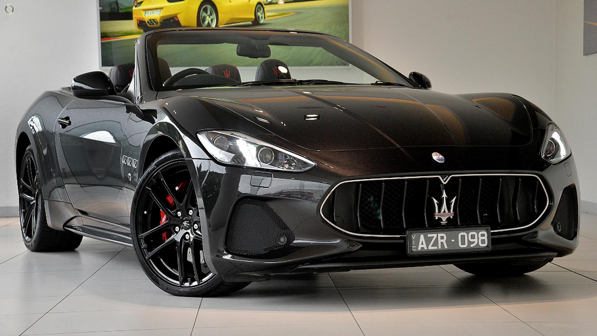 2018 Maserati GranCabrio Sport M145