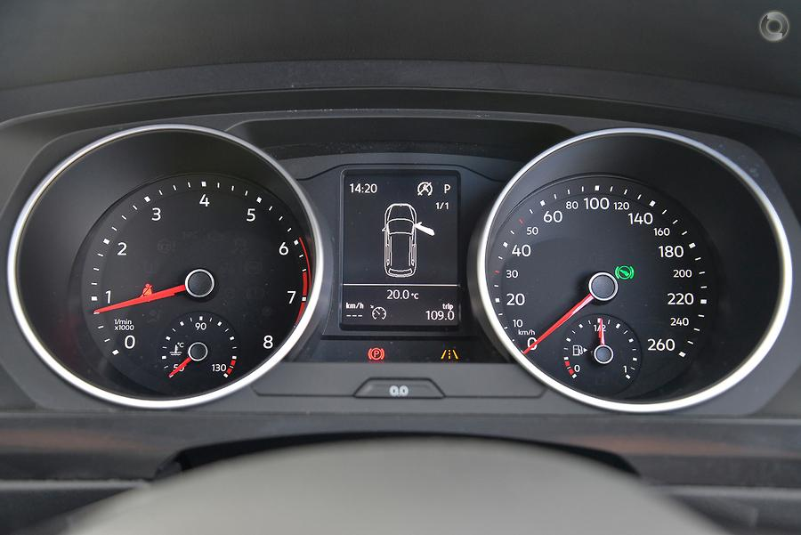 2017 Volkswagen Tiguan 110TSI Trendline 5N